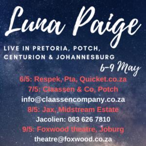 Luna Paige Live Northern Concert